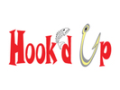 Hook'd Up Bar and Grill Logo