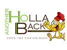 Another Holla Back Hot Wings & Things Logo