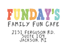 Funday's Family Fun Cafe Logo