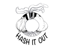 Hash It Out Logo
