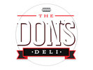 The Don's Deli Logo