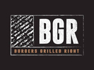 BGR: Burgers Grilled Right Logo