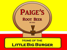 Paige's Root Beer Logo
