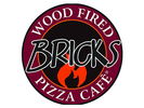 Bricks Wood Fired Pizza Logo
