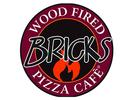 Bricks Wood Fired Pizza Logo