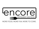 Encore Restaurant and Patio Logo