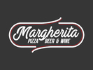 Margherita Pizza Beer & Wine Logo