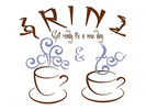 GRIND Coffee and Tea Shop Logo