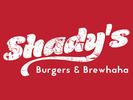 Shady's Burgers and Brewhaha Logo