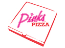 Pink's Pizza Logo