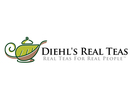 Diehl's Real Teas & Cafe Logo