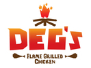Deg's Flame Grilled Chicken Logo