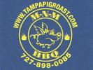M-N-M BBQ Logo