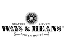 Ways & Means Oyster House Logo
