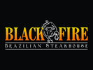 Black Fire Bull Logo