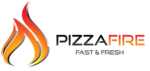 Pizza fire logo