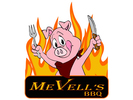 MeVell's BBQ Pit Logo