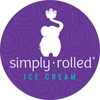 Simply Rolled Ice-Cream Logo