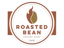 Roasted Bean Coffee Shop Logo