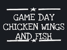 Game Day Chicken Wings & Fish Logo