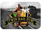 Twin Rail Pub Logo