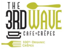 The 3rd Wave Cafe Crepes Logo