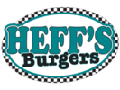Heff's Burgers and More Logo