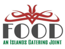Food, an Islands Catering Joint Logo