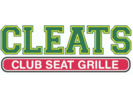 Cleats Club Seat Grille Logo