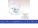 Lisa Rose Doll House & Tea Room Logo