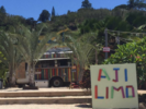 Aji Limo Truck Logo