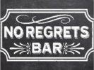 No Regrets Bar Logo