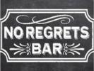 No Regrets Bar Logo
