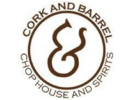 Cork & Barrel Chop House and Spirits Logo