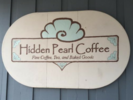 Hidden Pearl Coffee Logo