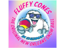 Fluffy Cones & Ice Creem Logo
