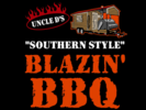 Uncle D's Blazin BBQ Logo