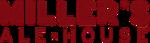 Miller's Ale House Logo