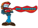 Big Mouth's Food Truck Logo
