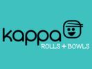 Kappa Rolls + Bowls Logo