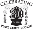 Pearl street station over 30 yrs logo