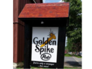 Golden Spike Pub Logo