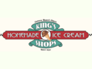 King's Homemade Ice Cream Shop Logo