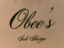 Obee's sub shoppe Logo