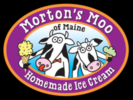 Morton's Moo Homemade Ice Cream Logo
