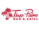 Three Palms Bar and Grill Logo