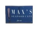 Max's Seafood Café Logo