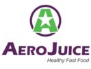 AeroJuice Healthy Fast Food Logo