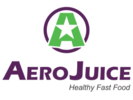 AeroJuice Healthy Fast Food Logo