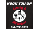 Hook You Up Catering and BBQ Services Logo